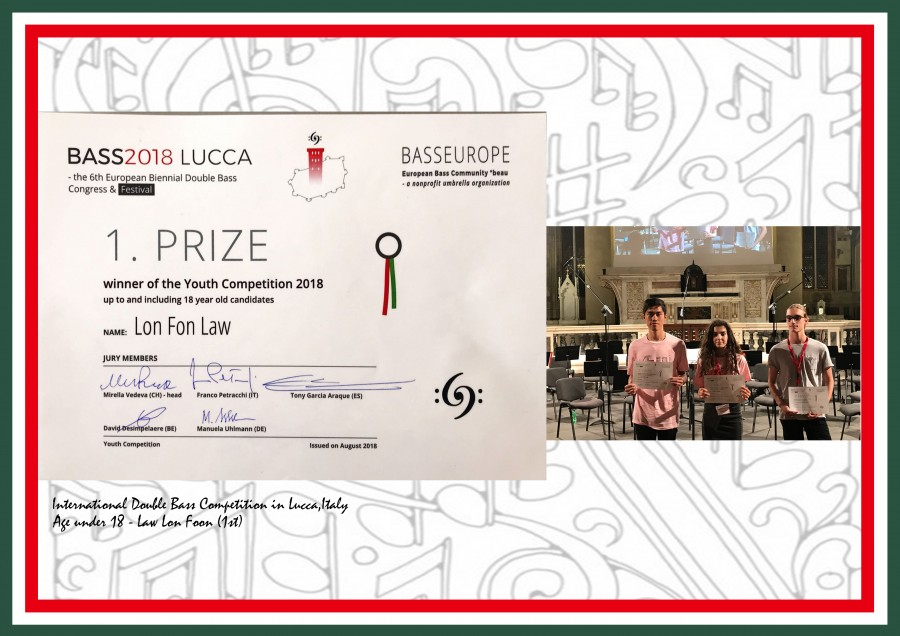 Under 18 Years old group:  1.Prize : Law Lon Fon