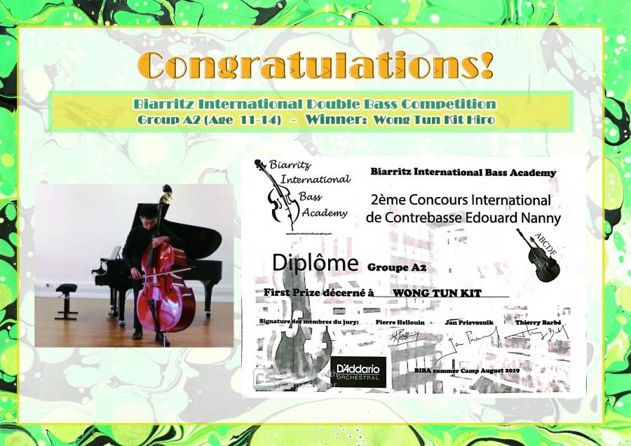 Group A2(Age 11-14): 1st Prize: Wong Tun Kit