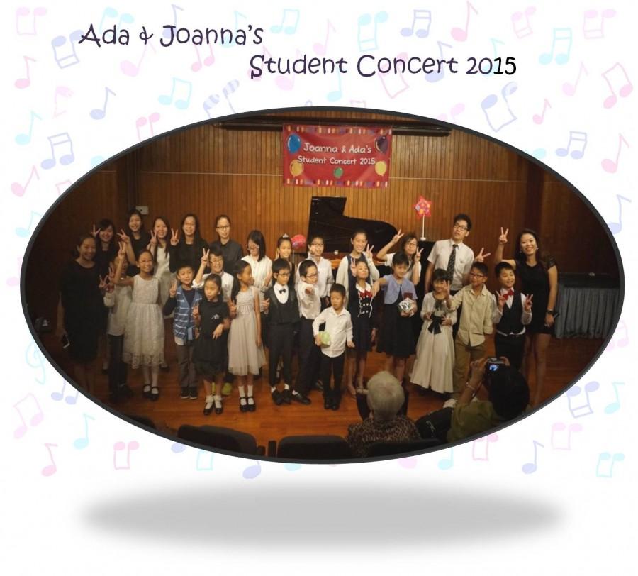 Ada & Joanna's Student Concert 2015
